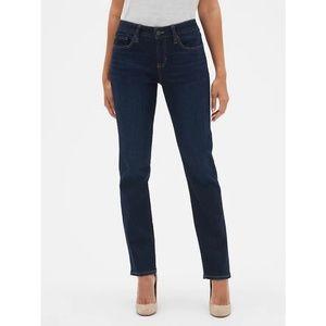 Gap | real straight dark wash jeans